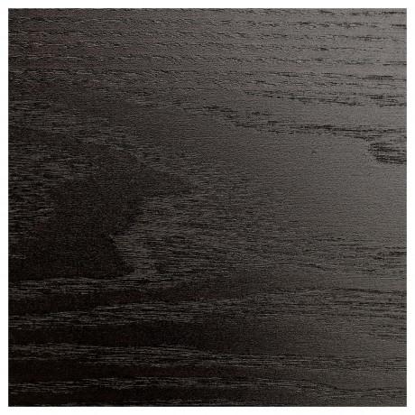 Дверца с петлями БЕРГСБУ черно-коричневый фото 4