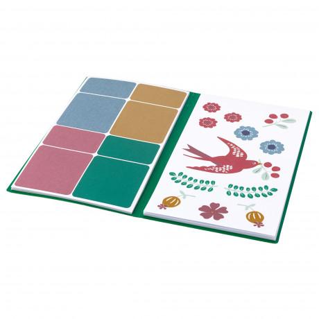 Папка с наклейками АНИЛИНАРЕ красный, зеленый фото 3