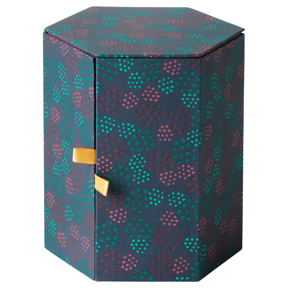 Декоративная коробка АНИЛИНАРЕ красный, зеленый  фото 1