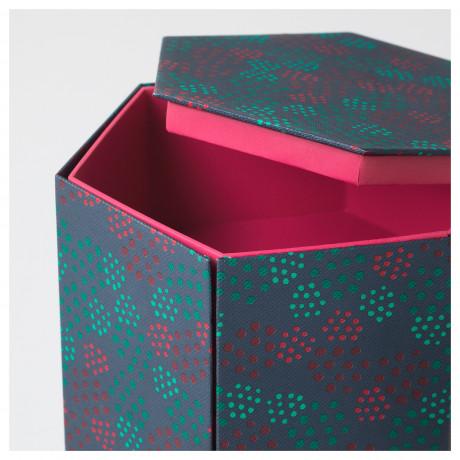 Декоративная коробка АНИЛИНАРЕ красный, зеленый фото 4