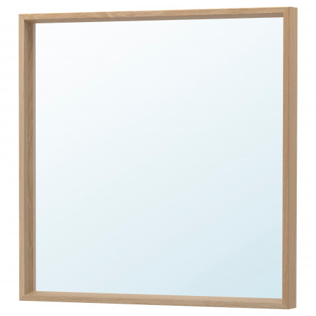 Зеркало НИССЕДАЛЬ белый фото 4