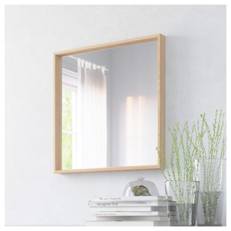 Зеркало НИССЕДАЛЬ белый фото 6