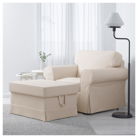 Кресло ЭКТОРП Скафтарп желтый фото 5