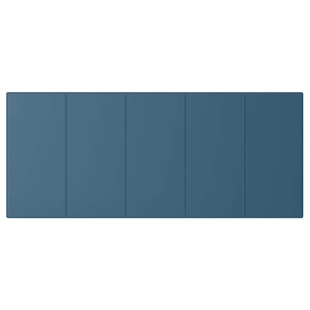 Фронтальная панель ящика ХАЛЛСТАВИК сине-зеленый  фото 1