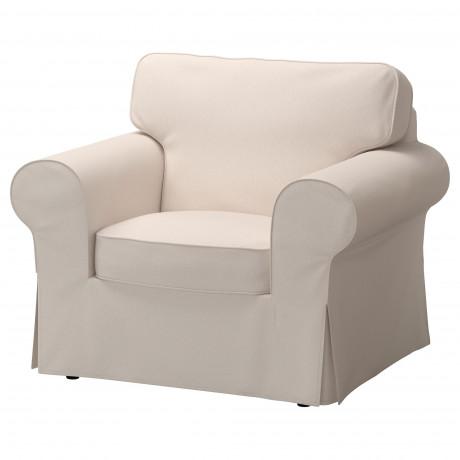 Чехол кресла ЭКТОРП Виттарид белый фото 5
