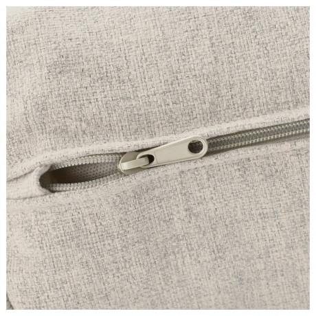 Чехол д/углового 3-местного дивана ВИМЛЕ с открытым торцом, Гуннаред классический серый фото 6
