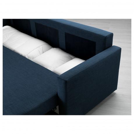 3-местный диван-кровать ФРИХЕТЭН Шифтебу темно-серый фото 6