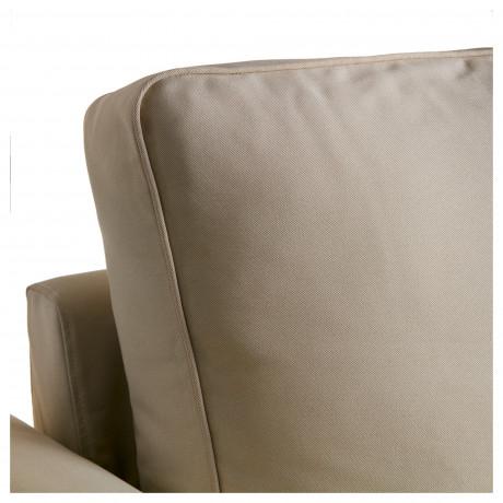 Чехол на 3-местный диван-кровать БАККАБРУ Хильте белый фото 6