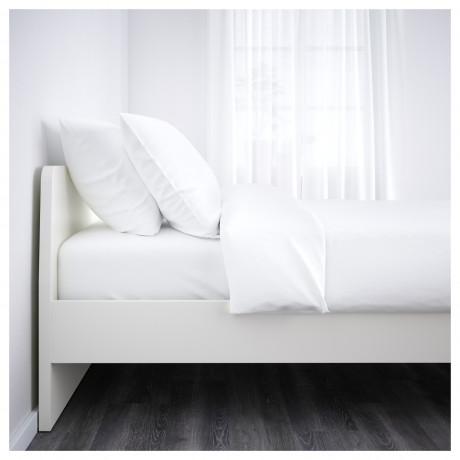 Каркас кровати АСКВОЛЬ белый, Лурой фото 6