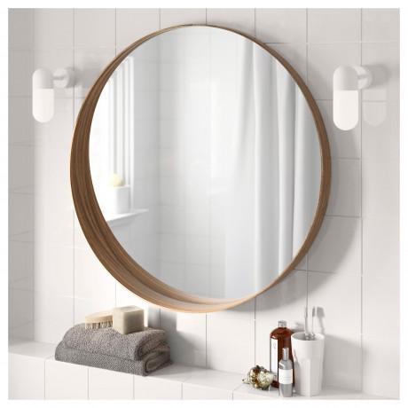 Зеркало СТОКГОЛЬМ ясеневый шпон фото 5