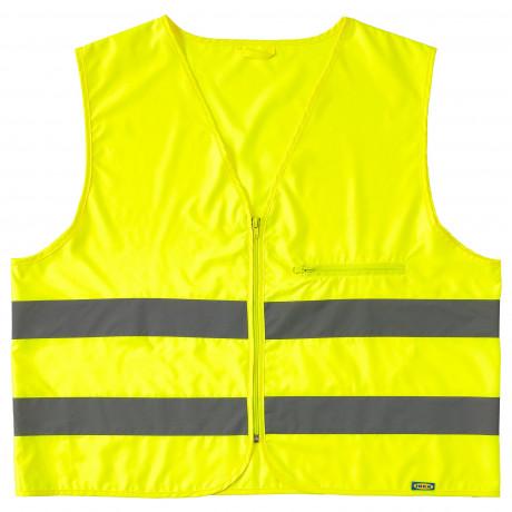 Светоотражающий жилет БЕСКЮДДА М, желтый фото 4