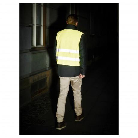 Светоотражающий жилет БЕСКЮДДА М, желтый фото 6