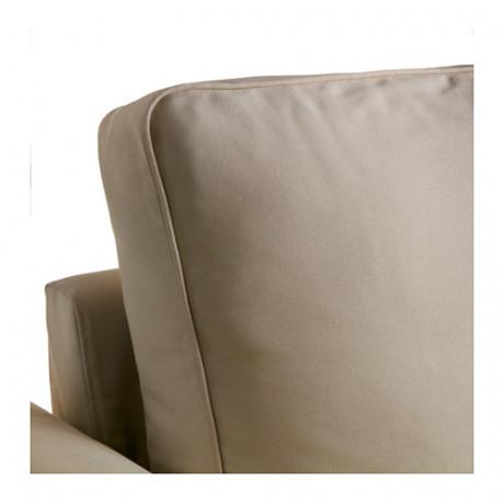 Чехол на диван-кровать с козеткой БАККАБРУ Хильте белый фото 7