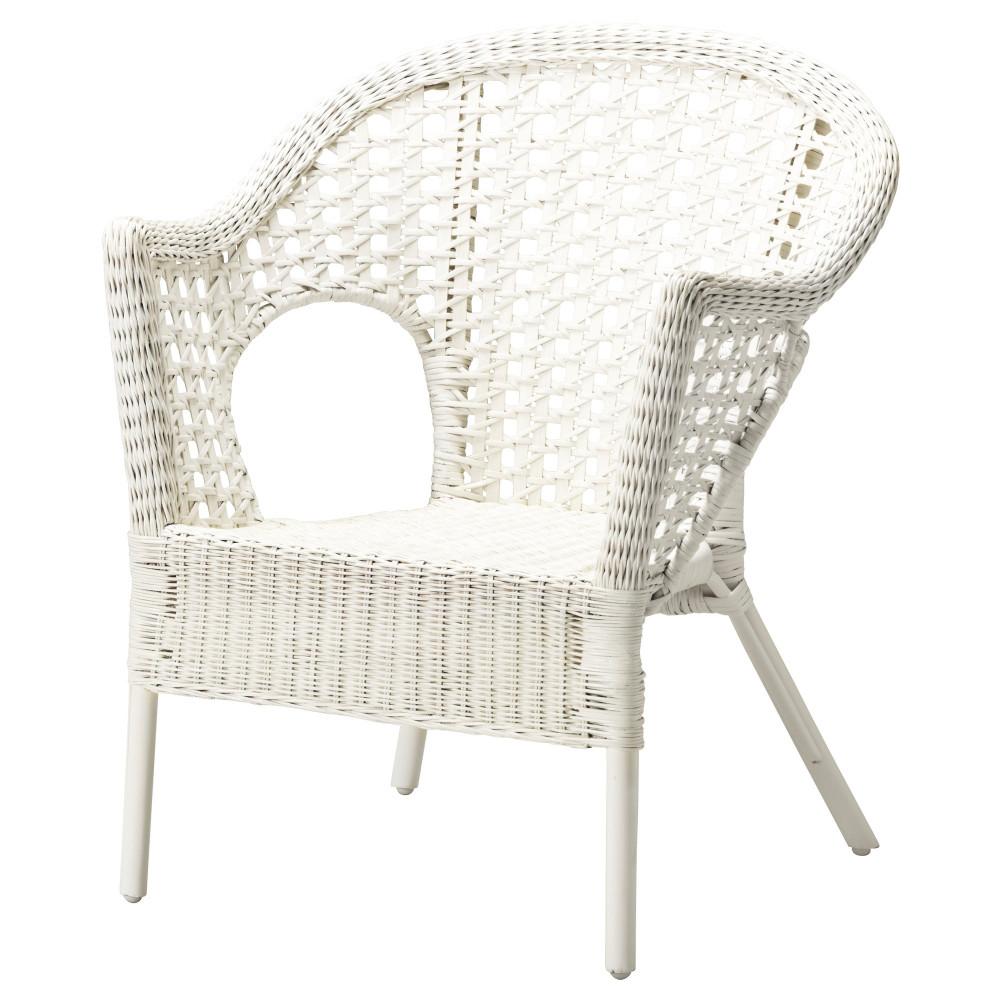 Кресло ФИННТОРП белый  фото 1