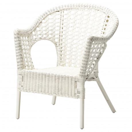 Кресло ФИННТОРП белый фото 3