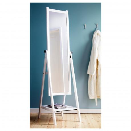 Зеркало напольное ИСФЬЁРДЕН белая морилка фото 4