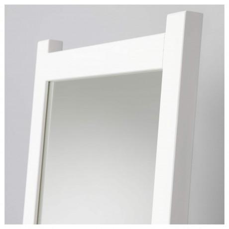 Зеркало напольное ИСФЬЁРДЕН белая морилка фото 5