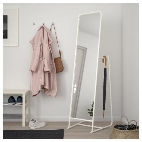 Зеркало напольное КНАППЕР белый фото 4