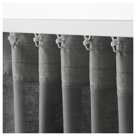 Гардины, 1 пара АННАЛУИЗА серый фото 5