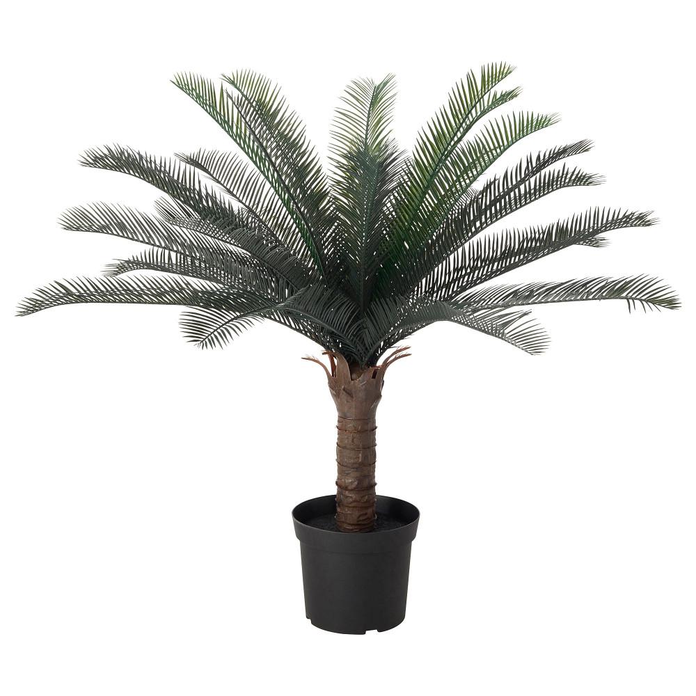 Искусственное растение в горшке ФЕЙКА д/дома/улицы саговая пальма  фото 1
