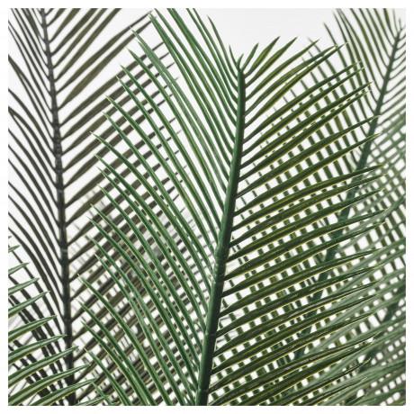 Искусственное растение в горшке ФЕЙКА д/дома/улицы саговая пальма фото 4