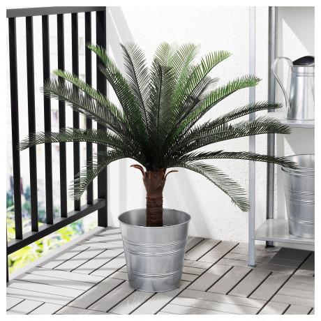 Искусственное растение в горшке ФЕЙКА д/дома/улицы саговая пальма фото 5