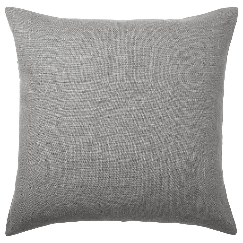 Чехол на подушку АЙНА серый  фото 1
