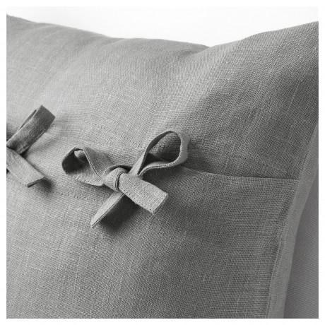 Чехол на подушку АЙНА серый фото 5