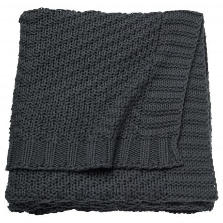 Плед ЭННИАНН темно-серый фото 3
