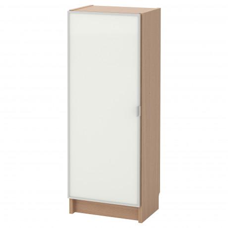 Шкаф книжный со стеклянной дверью  БИЛЛИ / МОРЛИДЕН фото 3