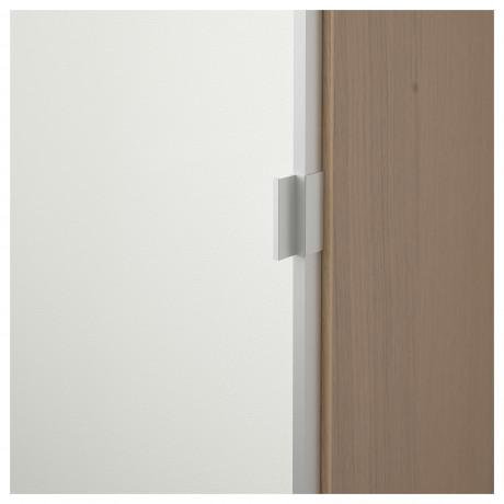 Шкаф книжный со стеклянной дверью  БИЛЛИ / МОРЛИДЕН фото 4