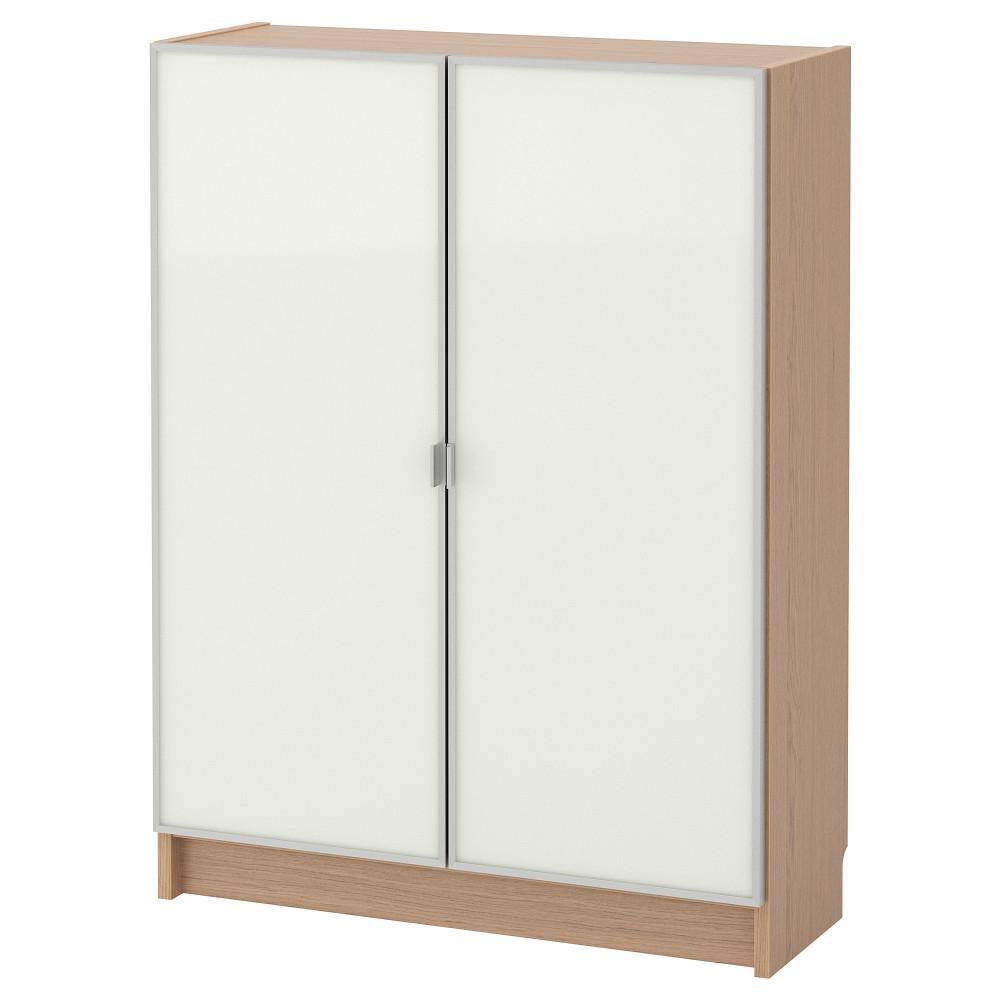Шкаф книжный со стеклянными дверьми  БИЛЛИ / МОРЛИДЕН  фото 1