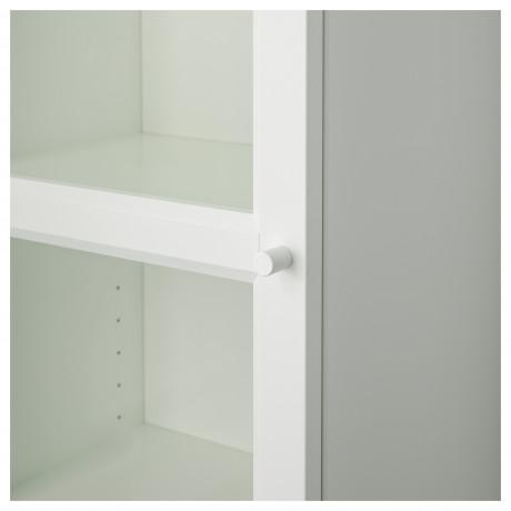 Шкаф книжный со стеклянной дверью  БИЛЛИ / ОКСБЕРГ фото 5