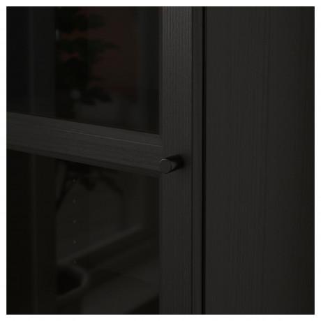 Шкаф книжный со стеклянной дверью  БИЛЛИ / ОКСБЕРГ фото 4