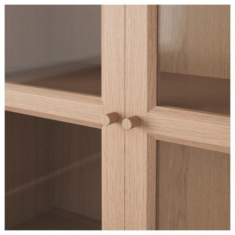 Шкаф книжный со стеклянными дверьми  БИЛЛИ / ОКСБЕРГ фото 4