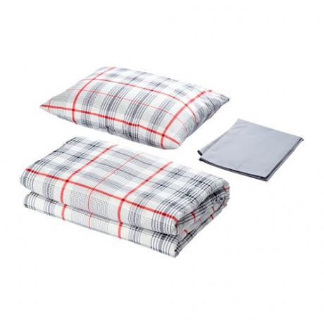 Комплект постельного белья,3 предм. БЕНВЕД серый, белый фото 4