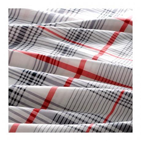 Комплект постельного белья,3 предм. БЕНВЕД серый, белый фото 5