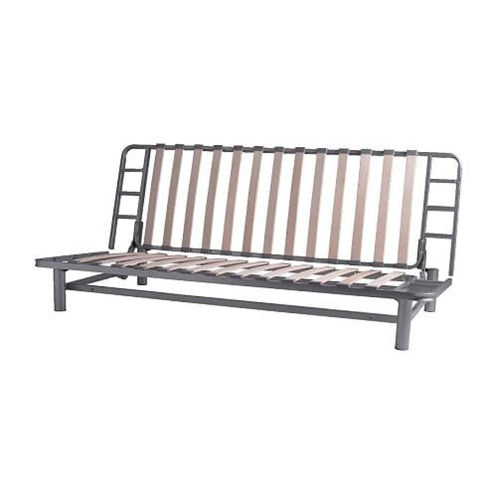 Каркас дивана-кровати 3-мест БЕДИНГЕ серебристый  фото 1