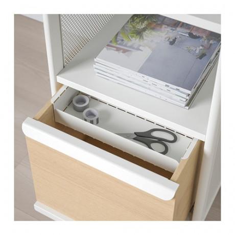 Модуль для хранения, на ножках БЕКАНТ сетка белый фото 6