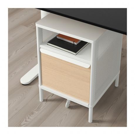 Модуль для хранения, на ножках БЕКАНТ сетка белый фото 5