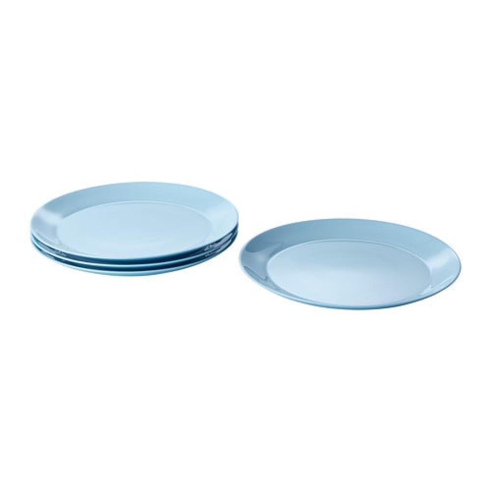 Тарелка БЕСЕГРА голубой  фото 1
