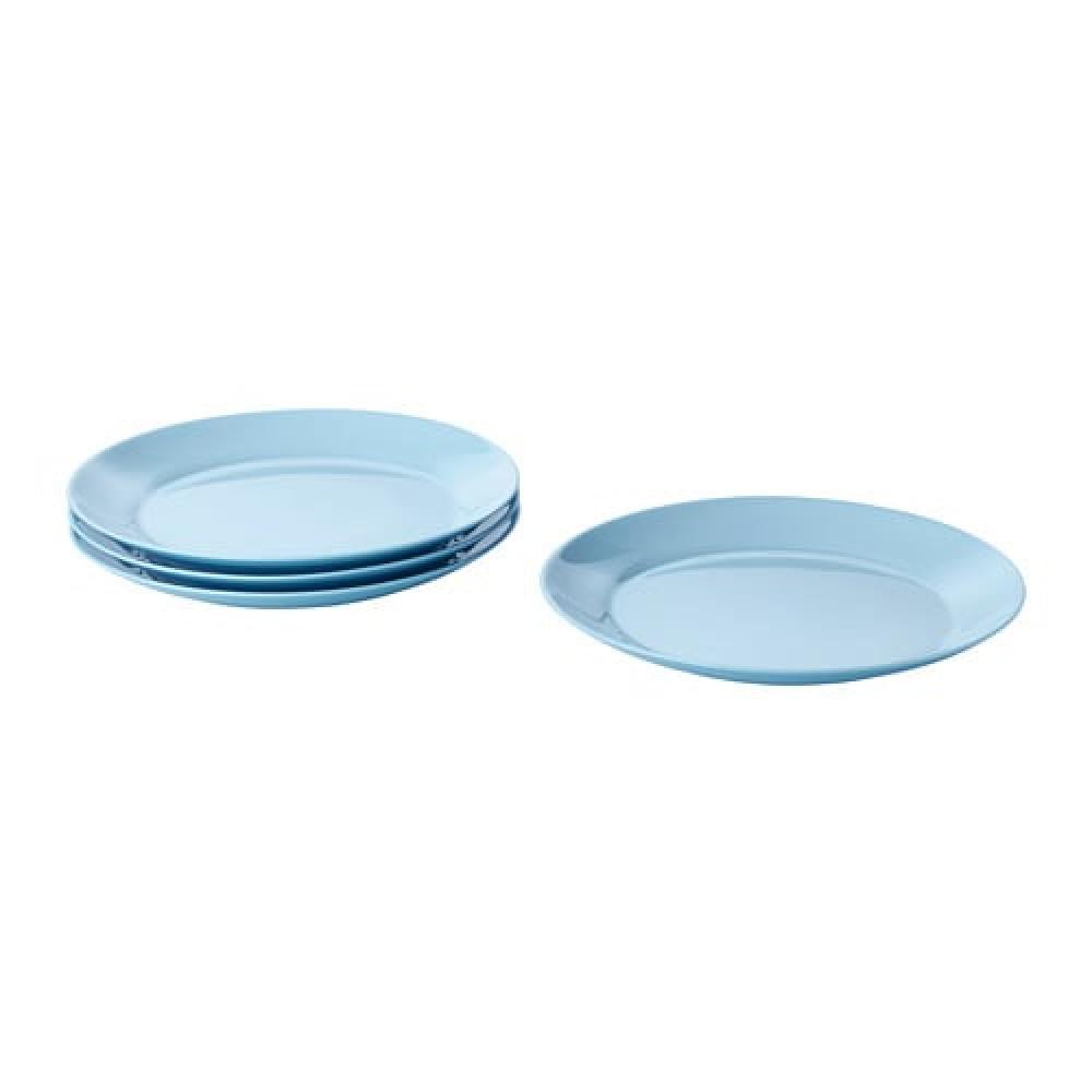Тарелка десертная БЕСЕГРА голубой  фото 1