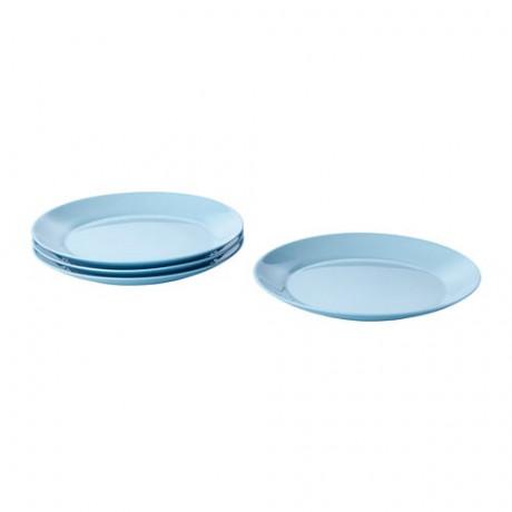 Тарелка десертная БЕСЕГРА голубой фото 3