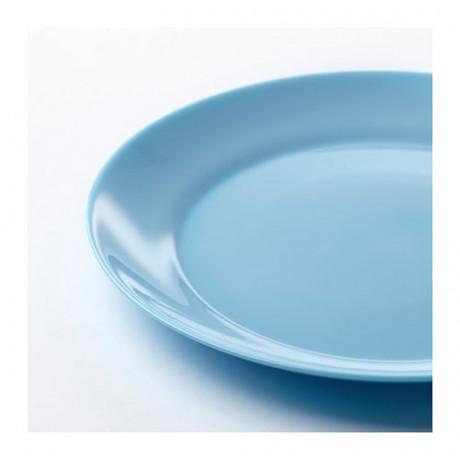 Тарелка десертная БЕСЕГРА голубой фото 4
