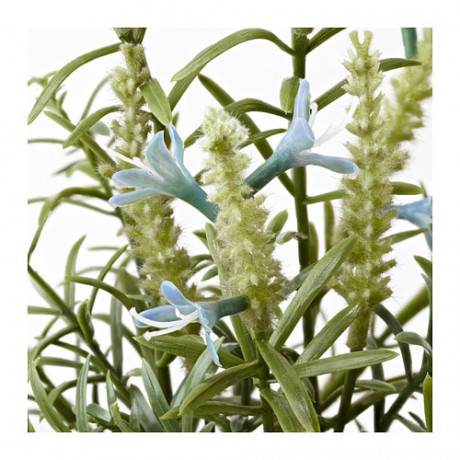 Искусственное растение в горшке ФЕЙКА лаванда синий фото 5