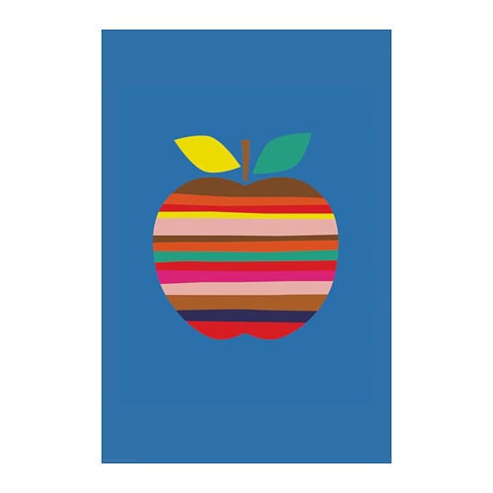 Постер БИЛЬД Яркое яблоко  фото 1