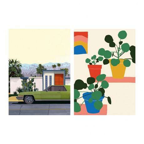 Постер БИЛЬД Машины и цветы фото 3