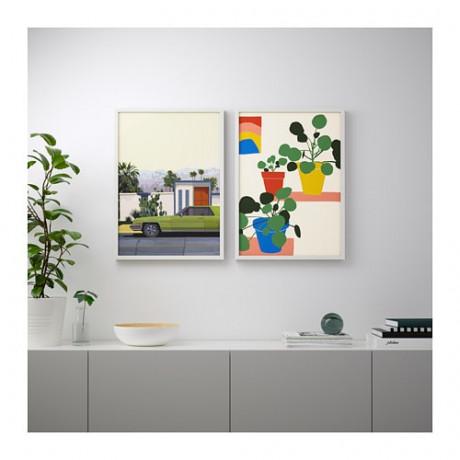 Постер БИЛЬД Машины и цветы фото 4