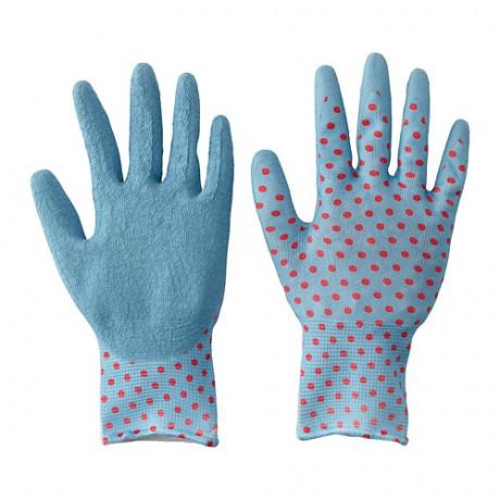 Садовые перчатки КРИДНЕЙЛИКА красный, синий фото 3