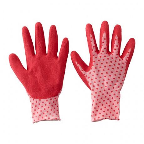 Садовые перчатки КРИДНЕЙЛИКА красный фото 3